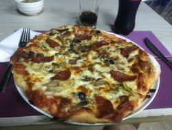 Seven Pizzas