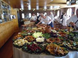 Restaurant at Termas Cacheuta Hotel