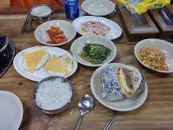 Bihaengjang Sausage Stew