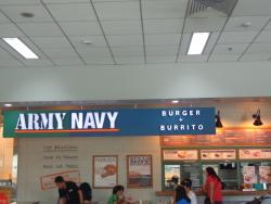 Army Navy Burger Burrito