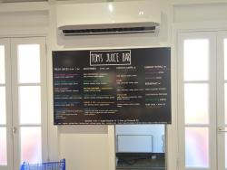 Tom's Juice Bar & Raw Cafe