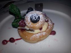 le dessert : beignet industriel !