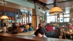 The interior of Tupelo Honey Cafe