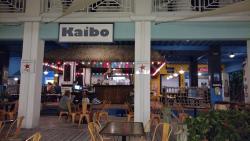 Kaibo outside dining