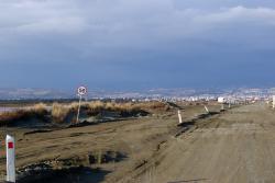 Akrotiri Salt Lake