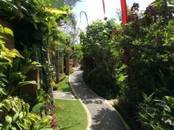 Beautiful plants around the whole resort
