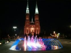 Fountain in Rybnik