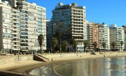 Het strand van Pocitos