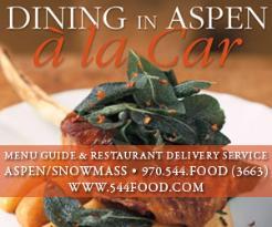 Aspen A La Car Restaurant Delivery Service
