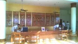 Impressive Reception area