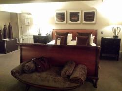 The Spruce Room, full of character and a wonderful superking size bed