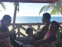 Our family enjoying Sunbloom & Potipot Island
