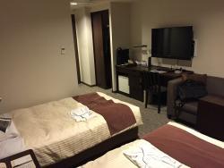 JR-East Hotel Mets Fukushima
