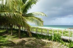 New walkway to Playa Ensenachos