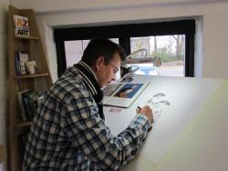 Jon Tremaine, Wildlife Artist Studio