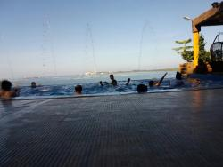 Infinity pool at Dfarm Masinloc Zambales.
