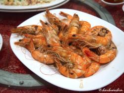Steamed Shrimps