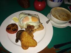 Amazing breaky to die for!