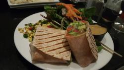 Grilled Asparagus Fajita Wrap