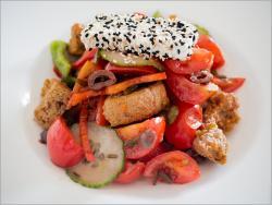 салат греческий! очень вкусно