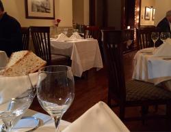 "Surprise in a small downtown ""Halliburton House Inn"": Stories restaurant"