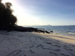 Bucht von Palawan Camping