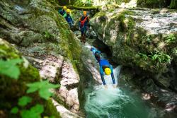 Canyoning Montmin Sources lac d'Annecy Faverges OT/T. Nalet