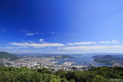 弓張岳展望台からの眺め