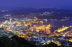 弓張岳展望台からの夜景