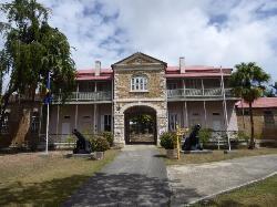 The main entrance.