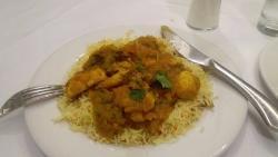Chicken Bhuna and Pilau Rice