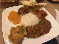Complex Curry Dishes, super friendly staff