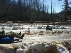Black Bear Snow Tubing