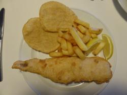 fish chips potato cakes