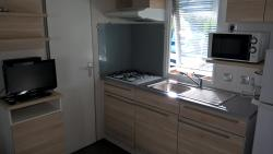 Gas hob - Microwave oven