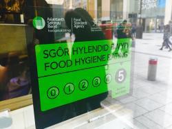 5* hygiene rating