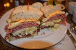 The New York sandwich--a sandwich to die for.