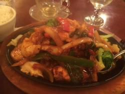 Spicy Mixed Seafood