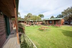 Cedar cabins exterior