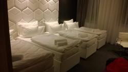 Quadruple room - like in Snow White :-)