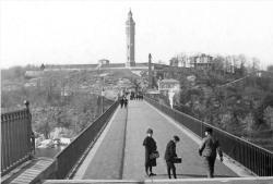 The High Bridge and High Bridge Water Tower circa 1900