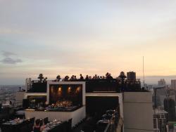 View from Vertigo - Moon Bar