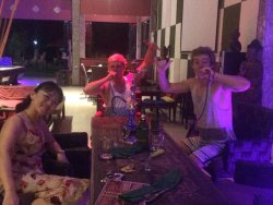 We here for : Shisa house, place for drinks, do you works, party and fun