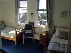 our seaview twin room with ensuite