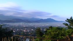 morning view of Luang Prabang