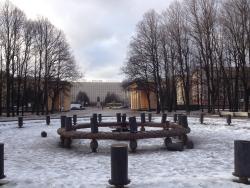 Фонтан Слава в Парке Победы