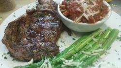 Steak and Stella... Yum