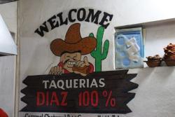 Taqueria Diaz 100%