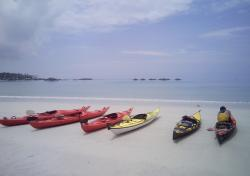 Tanah Laut Adventures - off to nearby islands...
