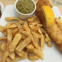 Seniors Fish and Chips